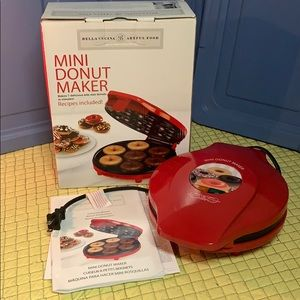 Bella Cucuna Mini donut maker
